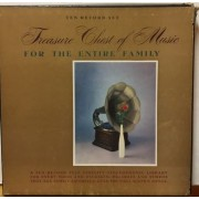 TREASURE CHEST OF MUSIC FOR THE ENTIRE FAMILY - BOX 10 LP