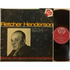 FLETCHER HENDERSON 1934 - LP UK