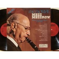 MEMORIAL MEZZ MEZZROW - 2 LP