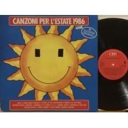 CANZONI PER L'ESTATE '86 - 1°st ITALY