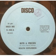 """BITS & PIECES - SOUTH EXPLOSION - 12"""" ITALY"""