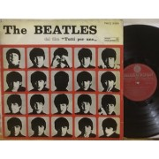 TUTTI PER UNO (A HARD DAY'S NIGHT) - 1°st ITALY Red Parlophon Label