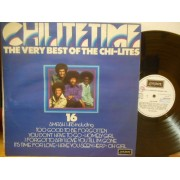 CHI-LITE TIME - THE VERY BEST OF THE CHI-LITES - LP UK