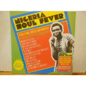 NIGERIA SOUL FEVER:AFRO FUNK DISCO AND BOOGIE WEST AFRICAN DISCO MAYHEM ! - 3 LP