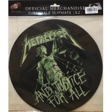 TURNTABLE SLIPMATS - METALLICA - AND JUSTICE FOR ALL