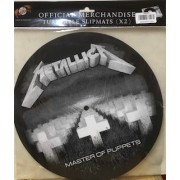 TURNTABLE SLIPMATS - METALLICA - MASTER OF PUPPETS