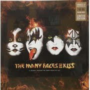 THE MANY FACES OF KISS:A Journey Through The Inner World Of KISS - 2 X MARBLE VINYL
