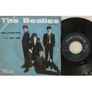 """SHE LOVES YOU / I'LL GET YOU - 7"""" ITALY"""