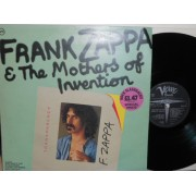 FRANK ZAPPA & THE MOTHERS OF INVENTION - LP UK