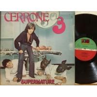 CERRONE 3 - SUPERNATURE - 1°st ITALY