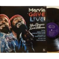 MARVIN GAYE LIVE ! - REISSUE UK