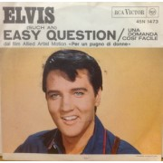 """EASY QUESTION / IT FEELS SO RIGHT - 7"""" ITALY"""