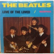 """MEMPHIS  / LOVE OF THE LOVED- 7"""" BLUE"""