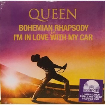 "BOHEMIAN RHAPSODY -  7"" PURPLE/YELLOW"