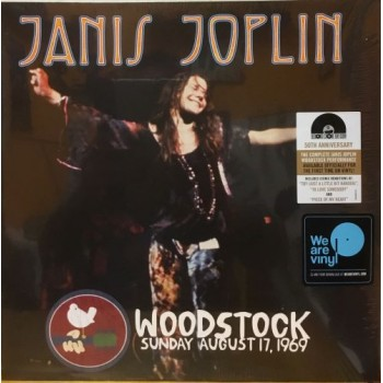 WOODSTOCK SUNDAY AUGUST 17 1969 - 2 LP