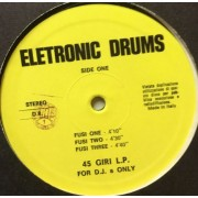 "ELETRONIC DRUMS - 12"" ITALY"