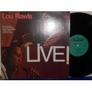 LOU RAWLS LIVE ! - REISSUE USA