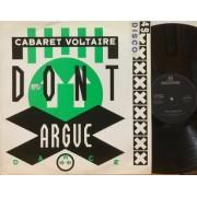 """DON'T ARGUE (DANCE) - 12"""" UK"""