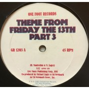 """THEME FROM FRIDAY THE 13TH PART 3 - 12"""" USA"""