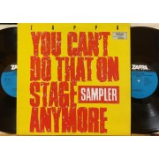 YOU CAN'T DO THAT ON STAGE ANYMORE SAMPLER - 2 LP