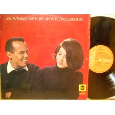 AN EVENING WITH BELAFONTE / MOUSKOURI - LP GERMANY