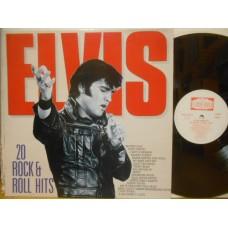 20 ROCK & ROLL HITS - LP GERMANY