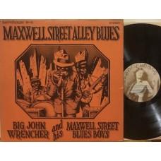 MAXWELL STREET ALLEY BLUES - LP USA
