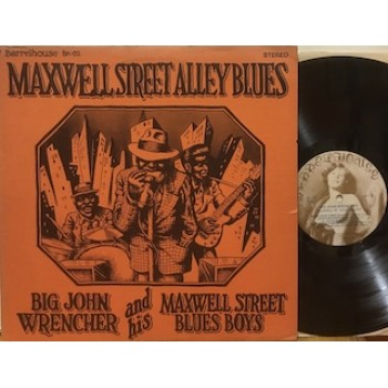 MAXWELL STREET ALLEY BLUES - LP USA