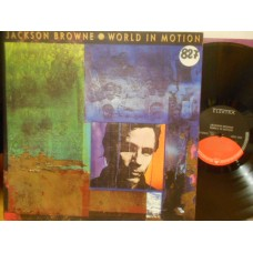 WORLD IN MOTION - LP GERMANY