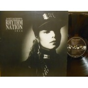 JANET JACKSON'S RHYTHM NATION 1814 - LP GERMANY