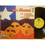 LA NUEVA CANCION CHILENA - INTI ILLIMANI 2 - LP ITALY