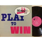 """PLAY TO WIN - 12"""" UK"""