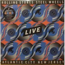 STEEL WHEELS LIVE ATLANTIC CITY NEW JERSEY - 4 LP COLOURED