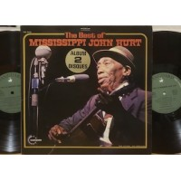 THE BEST OF MISSISSIPPI JOHN HURT - 2 LP