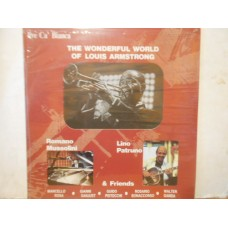 THE WONDERFUL WORLD OF LOUIS ARMSTRONG - SEALED LP