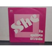 """SHE / HORROR - 7"""" ITALY"""