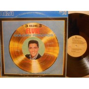 ELVIS' GOLDEN RECORDS VOL.3 - LP ITALY