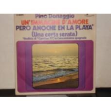 "PERO ANOCHE EN LA PLAYA / UN'IMMAGINE D'AMORE - 7"""