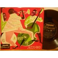 "A VISIT TO JAZZLAND - 10"" NETHERLANDS"