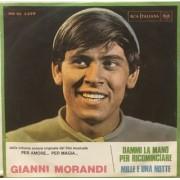 """DAMMI LA MANO PER RICOMINCIA - 7"""" ITALY"""