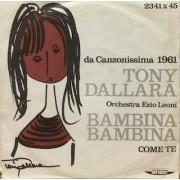 """BAMBINA BAMBINA - 7"""" ITALY"""