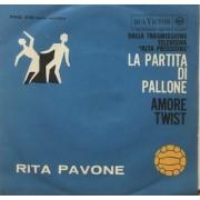 """LA PARTITA DI PALLONE - 7"""" ITALY"""