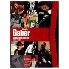 GIORGIO GABER VIDEO COLLECTION 1959-2001 - BOX 8 DVD + BOOK