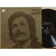 FERRAT CHANTE ARAGON - REISSUE FRANCIA