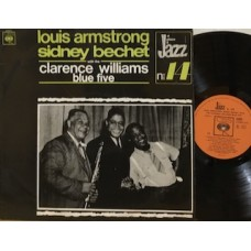 LOUIS ARMSTRONG & SIDNEY BECHET WITH THE CLARENCE WILLIAMS BLUE FIVE - L PITALY