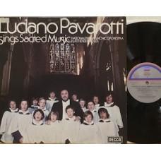 LUCIANO PAVAROTTI SINGS SACRED MUSIC - REISSUE ITALY