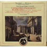CAVALLERIA RUSTICANA - PAGLIACCI - BOX 3 MUSICASSETTE