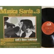 MUSICA SARDA VOL.3 - 1°st ITALY