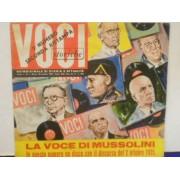 """LA VOCE DI MUSSOLINI 2 OTTOBRE 1935 - 7"""" FLEXI"""