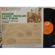 MUSICHE E CANTI POPOLARI DELL'EMILIA VOL.2 - LP ITALY